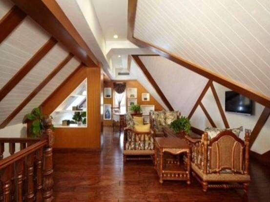 【年工原创】不规则屋顶斜面墙怎样装饰