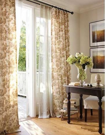 软装配饰之窗帘搭配